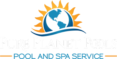 Pure Planet Pools footer logo