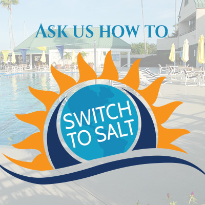 Switch to salt water in your pool